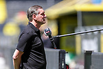 Michael Zorc, Manager Borussia Dortmund; 1. Fussball-Bundesliga; Borussia Dortmund - TSG Hoffenheim am 27.06.2020 im Signal-Iduna-Park in Dormund (Nordrhein-Westfalen). <br /> <br /> FOTO: BEAUTIFUL SPORTS/WUNDERL/POOL/PIX-Sportfotos<br /> <br /> DFL REGULATIONS PROHIBIT ANY USE OF PHOTOGRAPHS AS IMAGE SEQUENCES AND/OR QUASI-VIDEO. <br /> <br /> EDITORIAL USE OLNY.<br /> National and<br /> international NewsAgencies OUT.<br /> <br /> <br /> <br /> Foto © PIX-Sportfotos *** Foto ist honorarpflichtig! *** Auf Anfrage in hoeherer Qualitaet/Aufloesung. Belegexemplar erbeten. Veroeffentlichung ausschliesslich fuer journalistisch-publizistische Zwecke. For editorial use only. DFL regulations prohibit any use of photographs as image sequences and/or quasi-video.