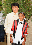 "WESTWOOD, CA. - June 07: Jackie Chan and Jaden Smith arrive at ""The Karate Kid"" Los Angeles Premiere at Mann Village Theatre on June 7, 2010 in Westwood, California."