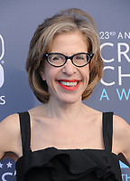11 January 2018 - Santa Monica, California - Jackie Hoffman. 23rd Annual Critics' Choice Awards held at Barker Hangar. <br /> CAP/ADM/BT<br /> &copy;BT/ADM/Capital Pictures