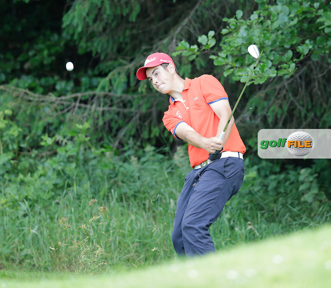 Antoine Aubion (France) during the final round of the 2015 Irish Boys Amateur Open Championship, Tuam Golf Club, Tuam, Co Galway. 26/06/2015<br /> Picture: Golffile   Fran Caffrey