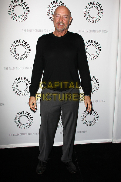 TERRY O'QUINN .27th Annual PaleyFest Presents the television show 'Lost' held At The Saban Theatre, Beverly Hills, California, USA, 27th February 2010..arrivals full length black top grey gray trousers shoes jumper sweater .CAP/ADM/KB.©Kevan Brooks/Admedia/Capital Pictures