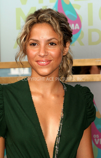 WWW.ACEPIXS.COM . . . . .  ....MIAMI, AUGUST 28, 2005....Shakira arriving to the 2005 MTV Video Music Awards held at the American Airlines Arena.....Please byline: ACE005 - ACE PICTURES.   .. *** ***  ..Ace Pictures, Inc:  ..Craig Ashby (212) 243-8787..e-mail: picturedesk@acepixs.com..web: http://www.acepixs.com