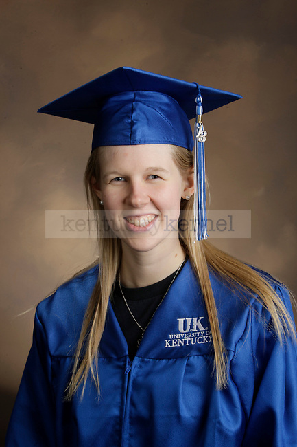 Stromberg, Sarah photographed during the Feb/Mar, 2013, Grad Salute in Lexington, Ky.
