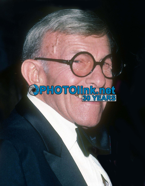 George Burns 1985<br /> Photo By John Barrett/PHOTOlink.net