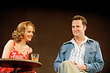 Sexual Perversity in Chicago by David Mamet, directed by Lindsay Posner. With Kelly Reilly as Deborah, Mathew Perry as Danny. Opened at the Comedy Theatre 14/5/03 CREDIT Geraint Lewis