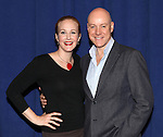 Katie Finneran & Anthony Warlow attending the Meet & Greet for 'ANNIE' at The New 42nd Street Rehearsal Studios in New York City on September 112, 2012