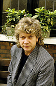 Moody Blues - bassist John Lodge - photographed exlcusively in London UK - 10 Jun 1986.  Photo credit: George Chin/IconicPix