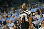 31 January 2013: Referee Eric Brewton. The University of North Carolina Tar Heels played the Florida State University Seminoles at Carmichael Arena in Chapel Hill, North Carolina in an NCAA Division I Women's Basketball game. UNC won the game 72-62.