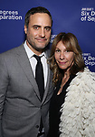 Dominic Fumusa and Ilana Levine attends the Opening Night Performance of 'Six Degrees Of Separation' at the Barrymore Theatre on April 25, 2017 in New York City.