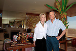 Michael York and his wife Pat York.Private Photo Shoot with Actor Michael York and his wife Pat York at their home in Los Angeles, California.November 2008