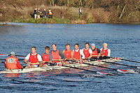 236 .WRC-Kerrigan .MasF.8+ .Wallingford RC. Wallingford Head of the River. Sunday 27 November 2011. 4250 metres upstream on the Thames from Moulsford railway bridge to Oxford University's Fleming Boathouse in Wallingford. Event run by Wallingford Rowing Club.