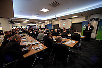 The 2018 New Zealand Rugby Union Annual General Meeting at the New Zealand Rugby Union Head Office in Wellington, New Zealand on Thursday, 19 April 2018. Photo: Dave Lintott / lintottphoto.co.nz