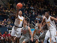 Berkeley, CA - January 14th, 2017:  CAL Men's Basketball's 58-54 victory against Washington State at Haas Pavilion.