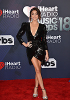 Sarah Hyland at the 2018 iHeartRadio Music Awards at The Forum, Los Angeles, USA 11 March 2018<br /> Picture: Paul Smith/Featureflash/SilverHub 0208 004 5359 sales@silverhubmedia.com