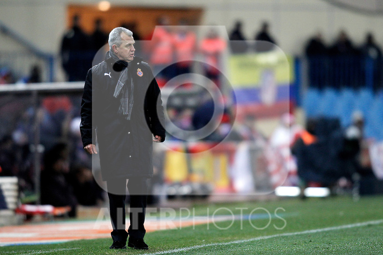 Espanyol's Mauricio Pochettino during La Liga  match. February 24,2013.(ALTERPHOTOS/Alconada)