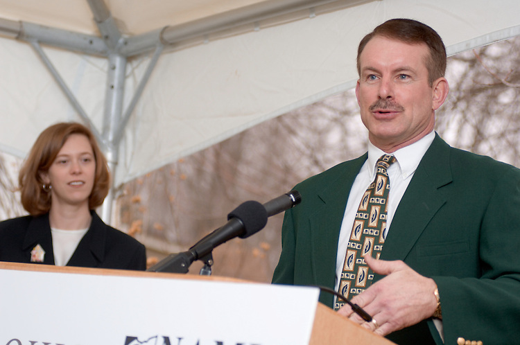 GROUND IS BROKEN FOR THE 20th HABITAT HOUSE.IN ATHENS COUNTY.. .ATHENS, Ohio ? Ground was broken on Thursday, March 9, for the 20th Habitat for Humanity House in Athens County. The lot is located on W. Fourth Street in The Plains, Ohio. The Ohio University Coalition of Athens County Habitat for Humanity, the National Alliance on Mental Illness (NAMI Ohio), the Federal Home Loan Bank of Cincinnati (FHLB), and the Community Housing Improvement Program (CHIP) are sponsoring this build.. .The Brigante family is scheduled to occupy the house by June 30. Robin Brigante is an Ohio University 2005 alumna who was rendered paraplegic after a car accident in fall 2004. Brigante earned her bachelor of specialized study degree to become a drug and alcohol counselor. She will live in the house with her 20-year-old son, Treavis Poynter.. .?Ohio University is committed to actively sharing our resources to improve the quality of life in southeastern Ohio,? Ohio University President Roderick J. McDavis said. ?We are especially proud to be involved in this build as we work to create a home for one of Ohio University?s own, Robin Brigante, who has shown incredible strength as she earned her degree and displayed a distinct commitment to her education.?. .More than 20 interior architecture students from the university?s College of Health and Human Services? School of Human and Consumer Sciences have developed floor plans for the build. Under the leadership of Associate Professor David Matthews, the students are part of the Design Group student organization, which initiated its partnership with Habitat for Humanity because of a desire to be active in community projects while learning directly from the design and construction experience.. .The purchase of the lot was made possible by a grant from the CHIP program and an Ohio University employee, Jim Yute, and his wife, Maggie, who agreed to sell the property at below market value.. .?We are all very appreciative of Jim and Maggie?s gener
