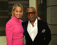 LOS ANGELES, CA - FEBRUARY 8: L.A. Reid and Erica Reid attend L.A. Reid & HITCO Entertainment's celebration of the 2019 Grammy Awards at Reids home on FEBRUARY 8, 2019 in Los Angeles, California. (Photo by Willy Sanjuan/PictureGroup)