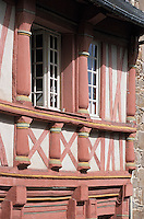 Europe/France/Bretagne/22/Côtes d'Armor/Saint-Brieuc: Vieilles maisons rue Fardel