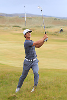 Thorbjorn Olesen (DEN) on the 17th during Round 3 of the Dubai Duty Free Irish Open at Ballyliffin Golf Club, Donegal on Saturday 7th July 2018.<br /> Picture:  Thos Caffrey / Golffile