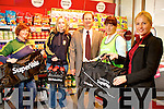 Twohig's Supervalu presenting Templeglantine GAA Committee Members with  €1000 worth of training equipment, which they won as part of the in store GAA promotion on Monday. Pictured L-R: Katie White, Joan O'Connor, Templeglantine GAA, Michael Twohig, Twohig's Supervalu Abbeyfeale, Mary Murphy, Templeglantine GAA, Ramune Ziliene, Manager Twohig's Supervalu Abbeyfeale.
