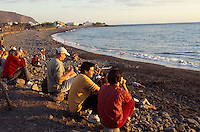 Spanien, Kanarische Inseln, Gomera, Strand von La Playa