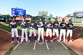 during the Under Armour All-American Game presented by Baseball Factory on July 29, 2017 at Wrigley Field in Chicago, Illinois.  (Mike Janes/Four Seam Images)