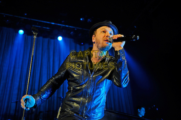 LONDON, ENGLAND - February 27: Gavin Degraw performs in concert at the o2 Shepherd's Bush Empire on February 27, 2014 in London, England<br /> CAP/MAR<br /> &copy; Martin Harris/Capital Pictures