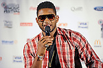 Usher attends press conference at the 2011 Essence Music Festival on July 1, 2011 in New Orleans, Louisiana at the Louisiana Superdome.