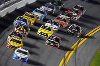 12-13 February, 2016, Daytona Beach, Florida, USA<br /> Brad Keselowski leads teamate Joey Logano.<br /> ©2016, F. Peirce Williams