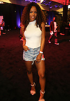 NEW ORLEANS, LOUISIANA - JULY 2, 2016 Serayah backstage at the Essence Festival at The Mercedes Benz Superdome, July 2, 2016 in New Orleans, LA. Photo Credit: Walik Goshorn / Media Punch
