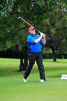 Ronan Maher (Mullingar) on the 3rd tee during round 1 of The Mullingar Scratch Cup in Mullingar Golf Club on Sunday 3rd August 2014.<br /> Picture:  Thos Caffrey / www.golffile.ie