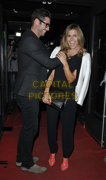 LONDON, ENGLAND - AUGUST 27: Matt Johnson &amp; Zoe Hardman attend the &quot;Some Girls I Used To Know&quot; gala night performance, The Arts Theatre, Great Newport St., on Wednesday August 27, 2014 in London, England, UK. <br /> CAP/CAN<br /> &copy;Can Nguyen/Capital Pictures