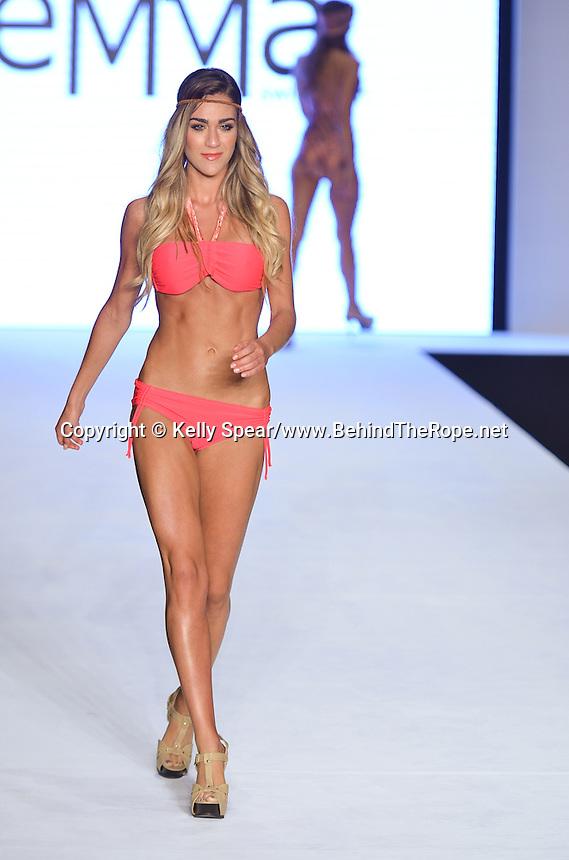 Emma's Swimwear by Emmanouela Iliaki Fashion Show at Miami Beach International Fashion Week, Miami Beach Convention Center, Miami Beach, FL - March 21, 2012