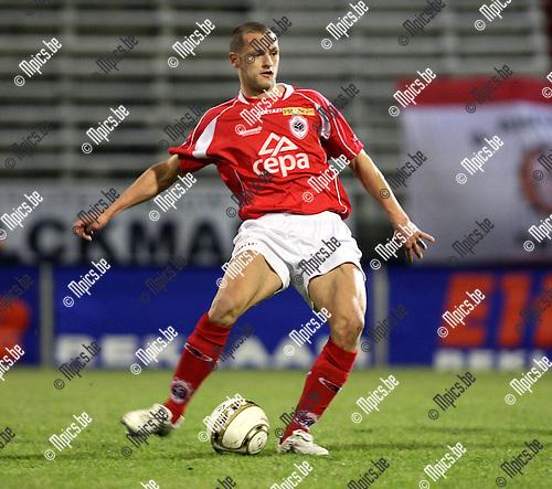 2009-01-24 / Voetbal / R. Antwerp FC - Ronse / Spencer Verbiest..Foto: Maarten Straetemans (SMB)