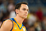 Herbalife Gran Canaria's player Kyle Kuric during the 3 shot contest of Supercopa of Liga Endesa Madrid. September 24, Spain. 2016. (ALTERPHOTOS/BorjaB.Hojas)