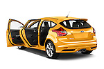 2013 Ford Focus ST Hatchback Doors Stock Photo