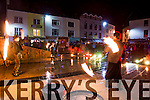 The Inferno fire show from Passepartout Circus in Tralee Town Square on Friday night.