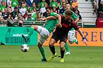 01.09.2019, wohninvest Weserstadion, Bremen, GER, 1.FBL, Werder Bremen vs FC Augsburg, <br /> <br /> DFL REGULATIONS PROHIBIT ANY USE OF PHOTOGRAPHS AS IMAGE SEQUENCES AND/OR QUASI-VIDEO.<br /> <br />  im Bild<br /> Nuri Sahin (Werder Bremen #17)<br /> Florian Niederlechner (Co-Trainer FC Augsburg 07)<br /> <br /> <br /> Foto © nordphoto / Kokenge