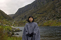 JAPANESE PRINCESS IN IRELAND...<br /> Her Imperial Highness Princess Sayako of Japan pictured at the world famous Gap of Dunloe mountain in Killarney, Co. Kerry, Ireland on Sunday 15th October 2000.<br /> The princess is the only daughter of Emperor Akihito and Empress Michiko of Japan.<br /> The princess is holidaying in Ireland all this week..<br /> PHOTO BY: DON MACMONAGLE, 6 PORT ROAD, KILLARNEY, CO. KERRY, IRELAND. TELEPHONE: 00-353-64-32833