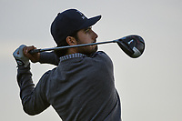 Abraham Ancer (MEX) watches his tee shot on 11 during day 2 of the Valero Texas Open, at the TPC San Antonio Oaks Course, San Antonio, Texas, USA. 4/5/2019.<br /> Picture: Golffile | Ken Murray<br /> <br /> <br /> All photo usage must carry mandatory copyright credit (© Golffile | Ken Murray)