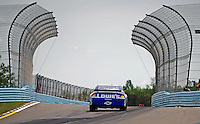 Aug. 8, 2009; Watkins Glen, NY, USA; NASCAR Sprint Cup Series driver Jimmie Johnson during practice for the Heluva Good at the Glen. Mandatory Credit: Mark J. Rebilas-