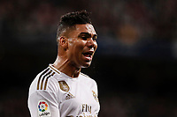2nd November 2019; Estadio Santiago Bernabeu, Madrid, Spain; La Liga Football, Real Madrid versus Real Betis; Carlos Enrique Casemiro (Real Madrid)  in action during the match  - Editorial Use
