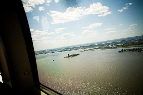 Started in March of 2006, US Helicopter is now running several daily taxi services to JFK airport for $160 each way. Overseen by both the Port Authority and TSA due to concerns over security procedures, US Helicopter has seen its business steadily grow since its induction.. The Statue of Liberty.