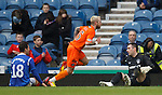 Jonny Russell shoots past Carlos Bocanegra and Allan McGregor to score goal no 2 for Dundee Utd