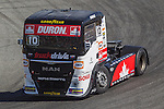 Monegasque driver Ellen Lohr belonging German team Truck Sport Lutz Bernau during the third race R3 of the XXX Spain GP Camion of the FIA European Truck Racing Championship 2016 in Madrid. October 02, 2016. (ALTERPHOTOS/Rodrigo Jimenez)
