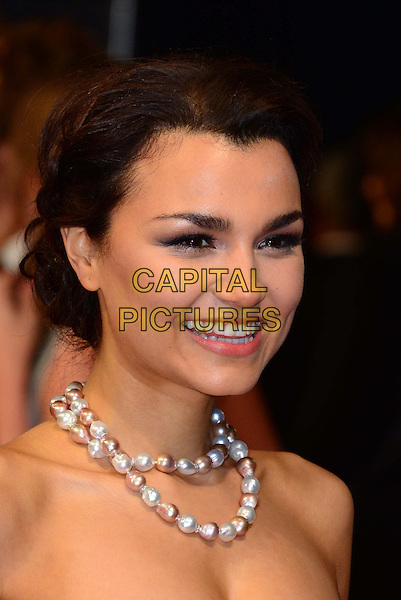 LONDON, ENGLAND - FEBRUARY 16: Samantha Barks attends EE British Academy Film Awards (BAFTAs) at Royal Opera House, Covent Garden, on February 16, 2014, in London, England.  <br /> CAP/JOR<br /> &copy;Nils Jorgensen/Capital Pictures