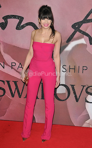 Daisy Lowe at the Fashion Awards 2016, Royal Albert Hall, Kensington Gore, London, England, UK, on Monday 05 December 2016. <br /> CAP/CAN<br /> ©CAN/Capital Pictures /MediaPunch ***NORTH AND SOUTH AMERICAS ONLY***