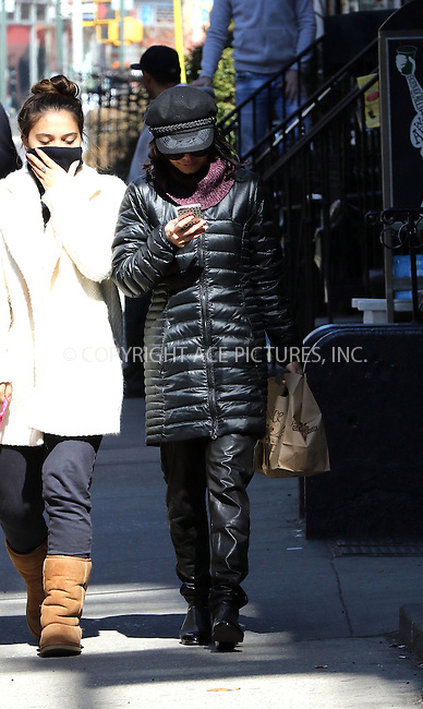 WWW.ACEPIXS.COM<br /> <br /> March 23 2015, New York City<br /> <br /> Actress Vanessa Hudgens took her dog for a walk in the East Village on March 23 2015 in New York City<br /> <br /> By Line: Zelig Shaul/ACE Pictures<br /> <br /> <br /> ACE Pictures, Inc.<br /> tel: 646 769 0430<br /> Email: info@acepixs.com<br /> www.acepixs.com