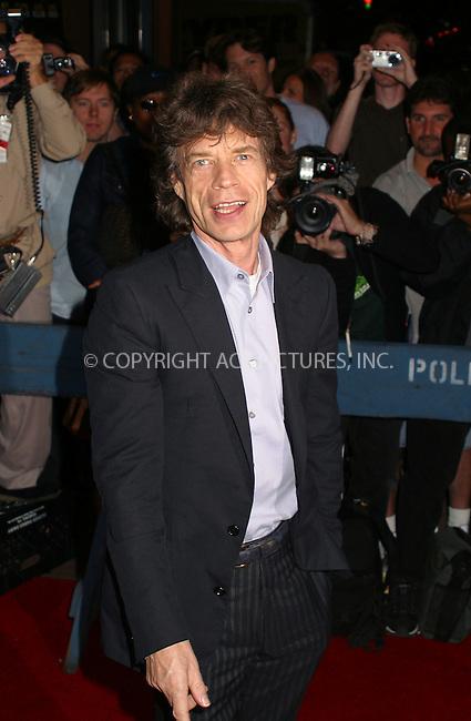"Rosker Mick Jagger attends the New York Premiere of ""The Man From Elysian Fields."" September 29, 2002. Please byline: Alecsey Boldeskul/NY Photo Press.   ..*PAY-PER-USE*      ....NY Photo Press:  ..phone (646) 267-6913;   ..e-mail: info@nyphotopress.com"