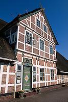 Deutschland, Niedersachsen, Altes Land, Fachwerkhaus in Jork